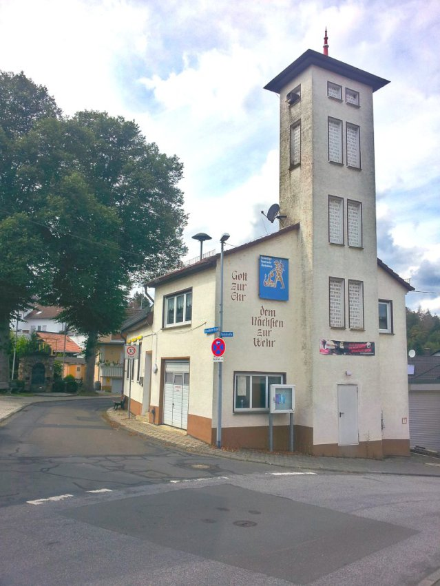 Altes Feuerwehrgerätehaus Hettenhain